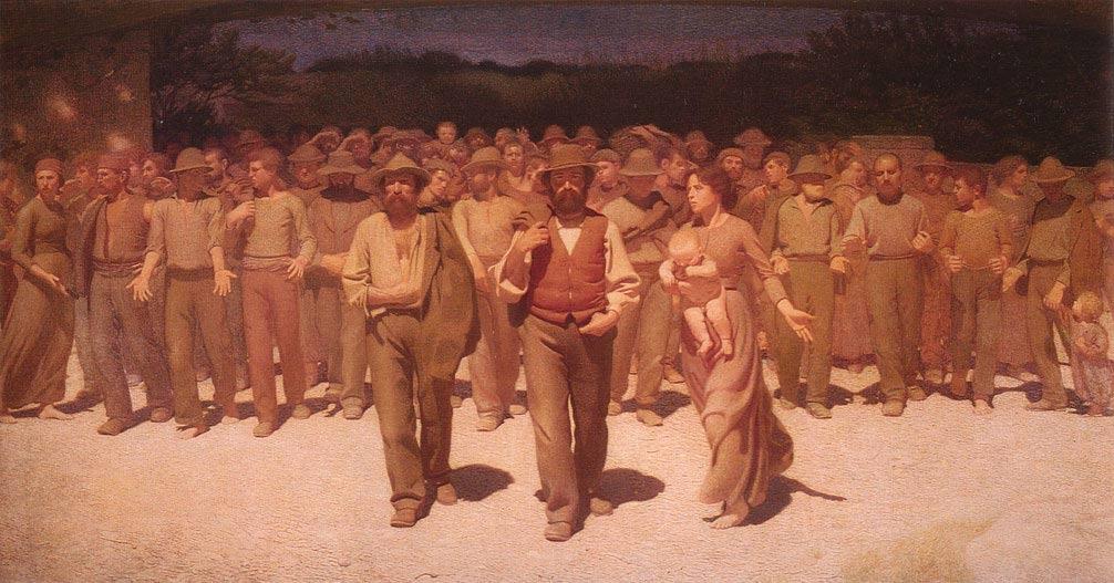 Il Quarto Stato in mostra a Milano al Museo del Novecento