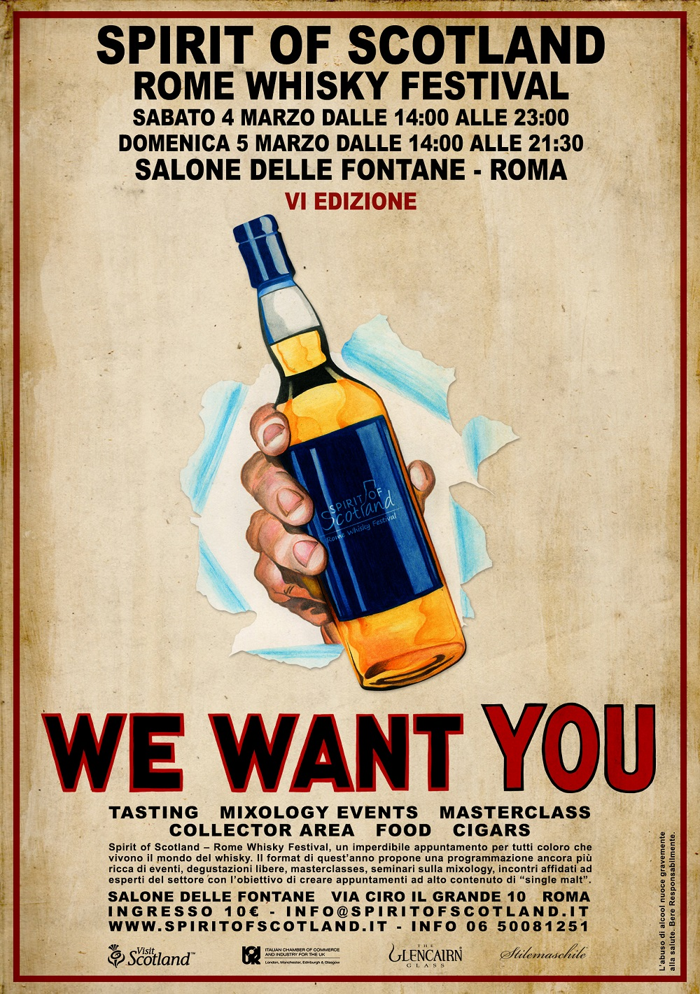 locandina Spirit of Scotland Rome Whisky Festival 2017 1