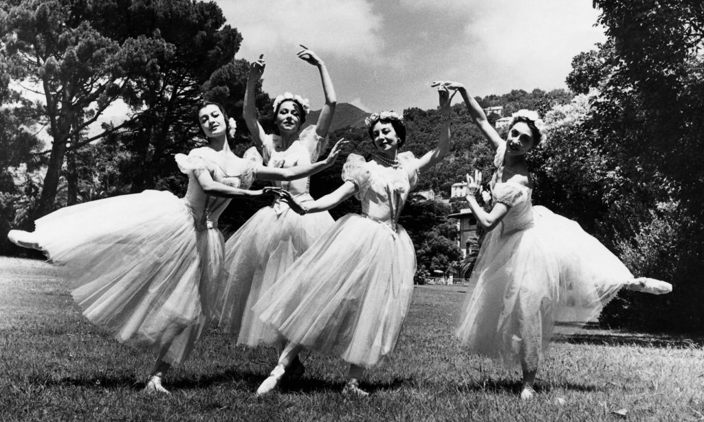 FESTIVAL 1957 Pas de Quatre ridotta