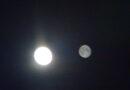 L'incredibile fenomeno metereologico della doppia Luna