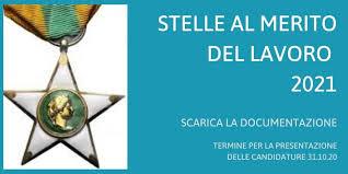 Italiani all'estero: Stella al Merito del Lavoro, segnalazioni per il 2021