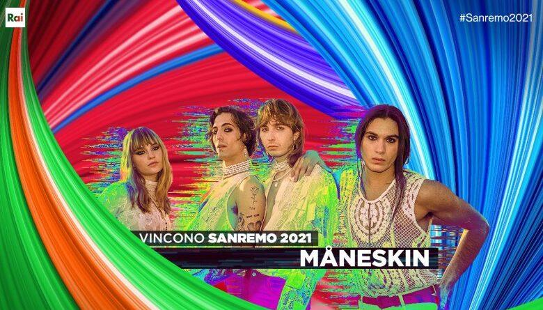 Måneskin win Sanremo 2021