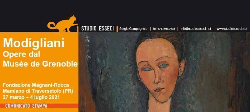Le opere di MODIGLIANI al Musée de Grenoble