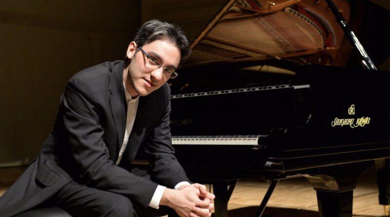 Il pianista italo-sloveno Alexander Gadjiev vince la Sydney International Online Piano Competition 2021